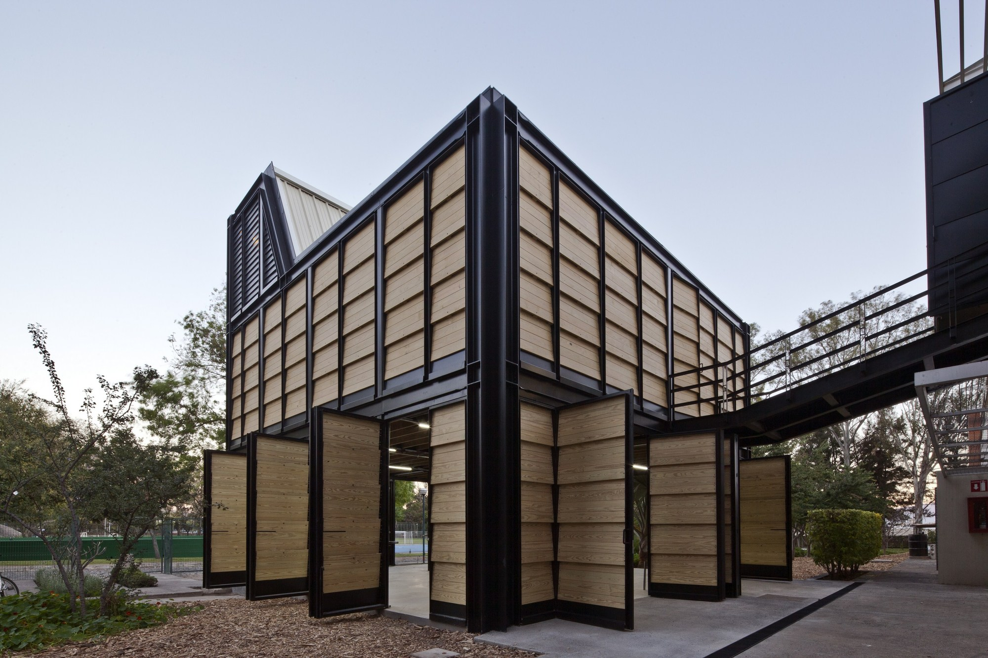 Tid annex atelier ars archdaily for Atelier arquitectura