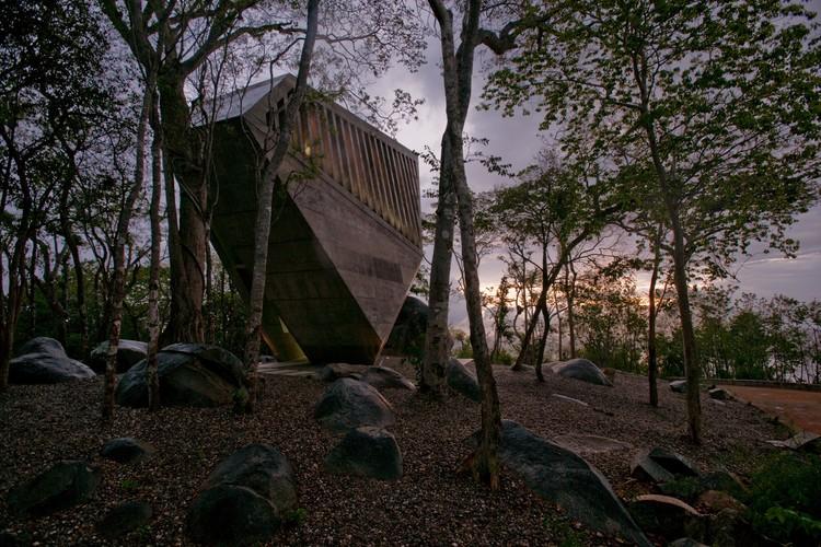 Capilla del Atardecer / BNKR Arquitectura, © Jaime Navarro