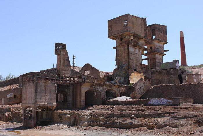 """""""Viagem ao Invisível"""": percurso por lugares da memória coletiva, Minas de São Domingos. Image © Iolanda Pereira, via Flickr. CC"""