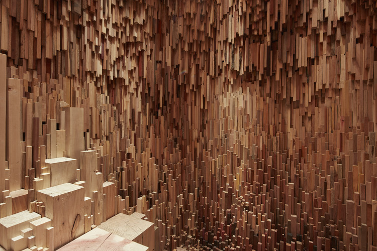 Se inaugura Hollow, instalación escultórica de Katie Paterson y Zeller & Moye , Hollow de Katie Paterson y Zeller & Moye, 2016. Cortesía de la Universidad de Bristol y Situations, fotografía por Max McClure