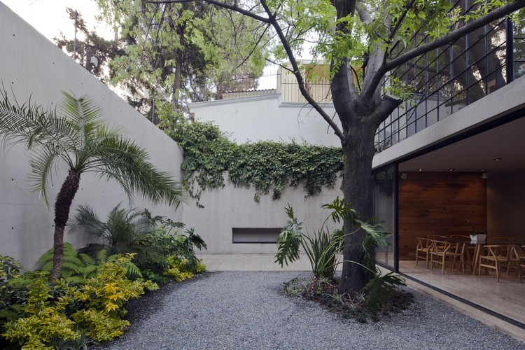Casa Estudio Hill / CCA Centro de Colaboración Arquitectónica, © Onnis Luque