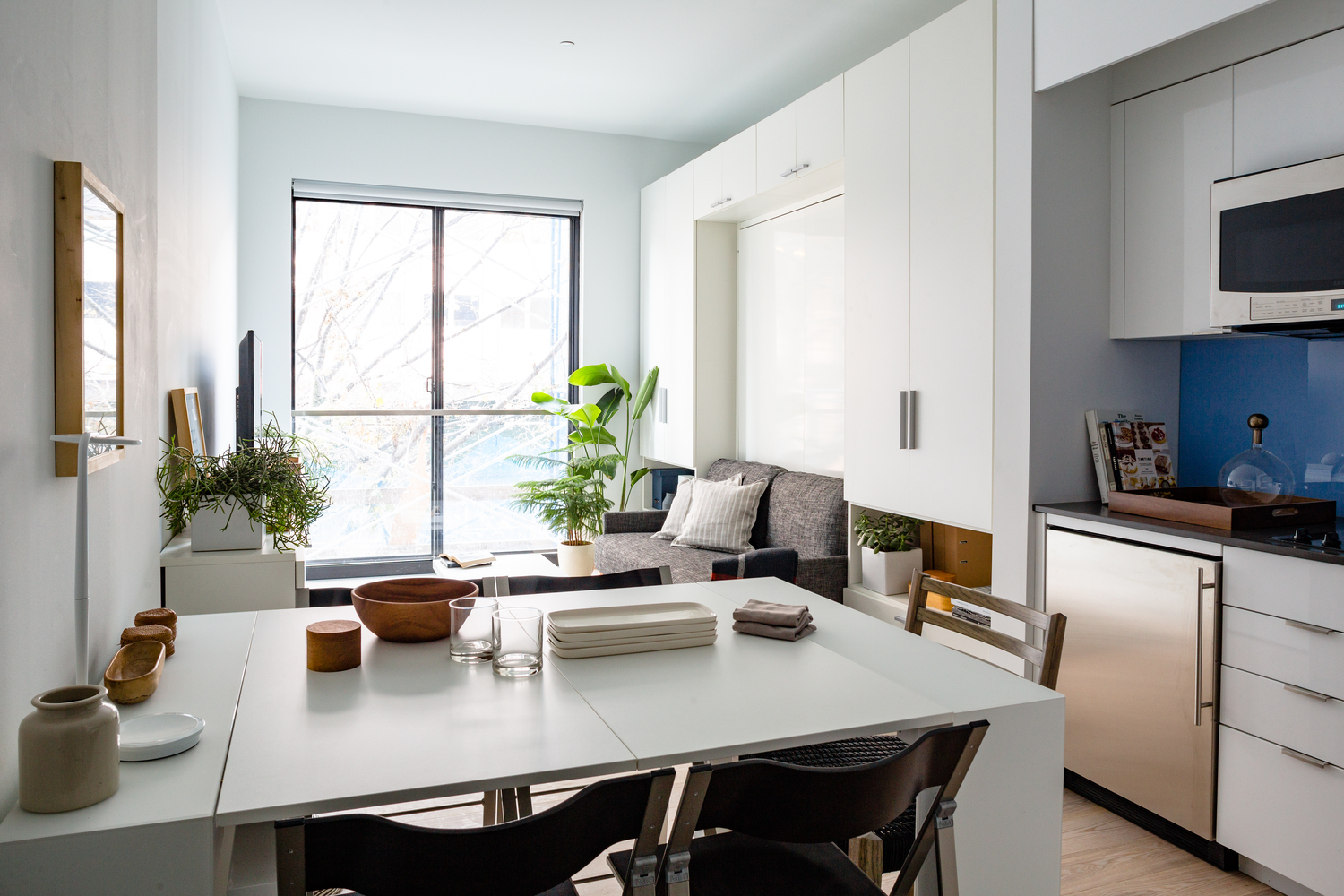 Gallery of Micro-Apartments: Are Expanding Tables and Folding ...