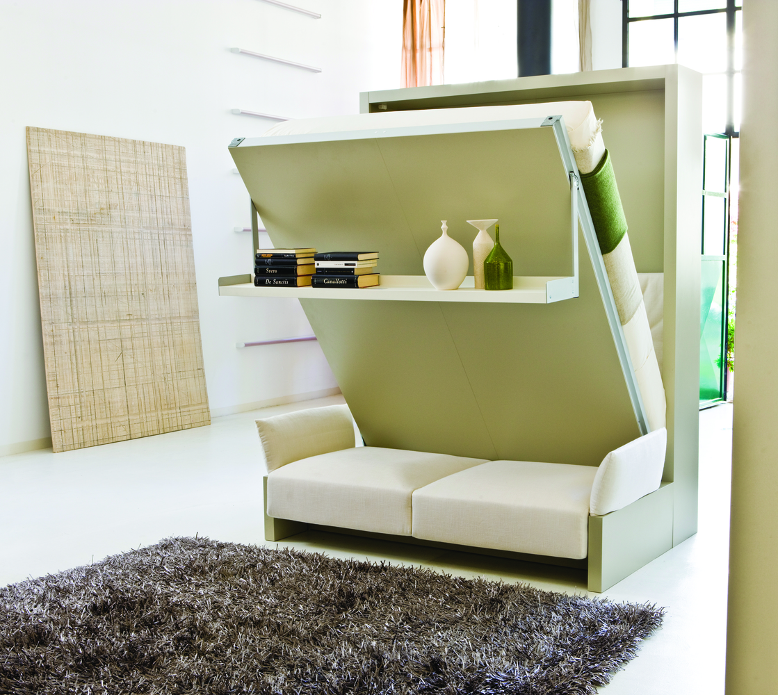 Gallery Of Micro Apartments Are Expanding Tables And Folding