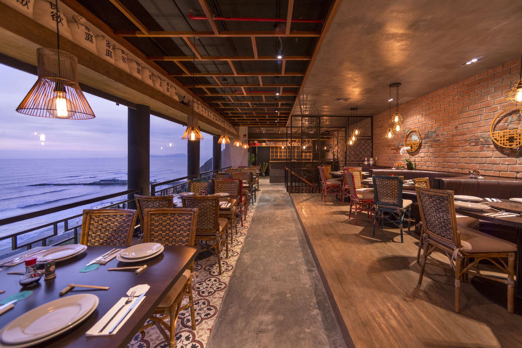 Maestro Tzu Restaurant Tru Arquitectos Archdaily