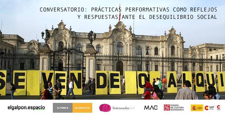 Conversatorio: Prácticas performativas como reflejos y respuestas ante el desequilibrio social, Cortesía de Fausto Luna