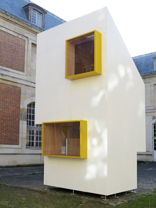 National School of Architecture of Versailles Students Create Minimal Housing Structure, Courtesy of the National School of Architecture of Versailles (ENSA-V)
