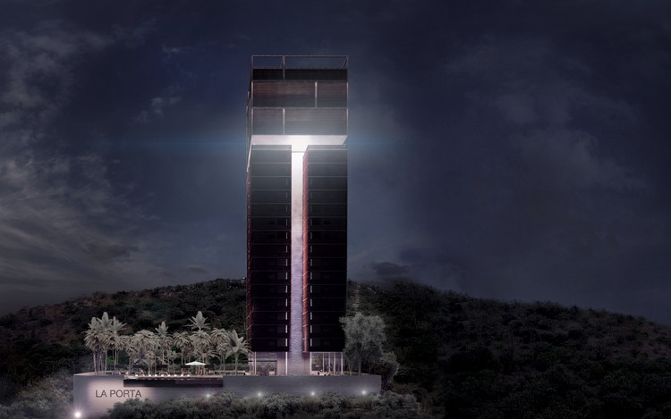 Mass Operations propone la QTO Tower en Querétaro, México, Renders por Jorge Alberto Rodriguez de Studio C4 Digital. Image Cortesía de Mass Operations