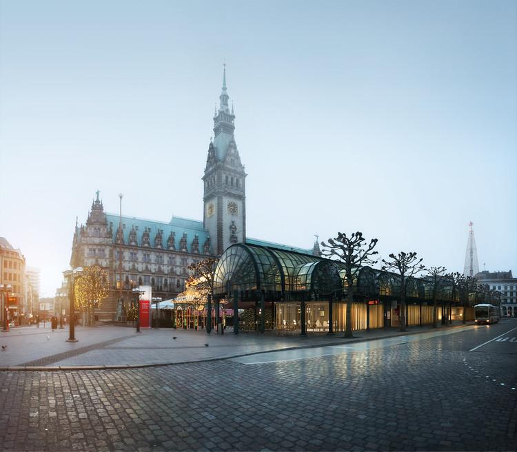 Studio Swes y Coido architects diseñarán nuevo centro de información turística en Hamburgo, Cortesía de Studio Swes + Coido architects