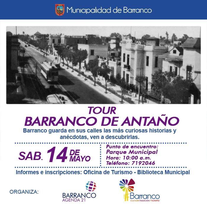 Tour Peatonal en Lima: Barranco de Antaño, Cortesía de Cultura Barranco