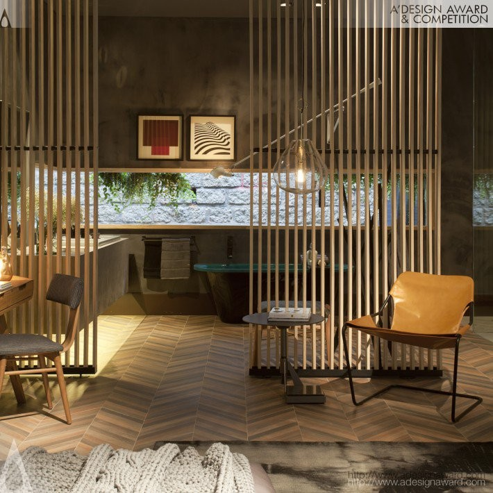 5xsao Paulo Juliana Pippi Golden A Interior Space Retail And Exhibition Design