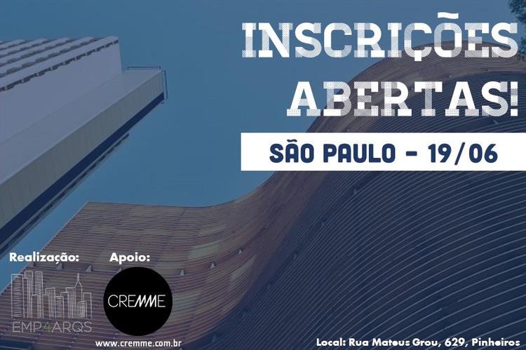 """Inscrições abertas para o workshop """"Empreendedorismo para arquitetos"""""""