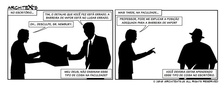 "Comic Break: ""Faculdade x Escritório"""