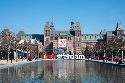 Rijksmuseum in Amsterdam. Image © Myra May
