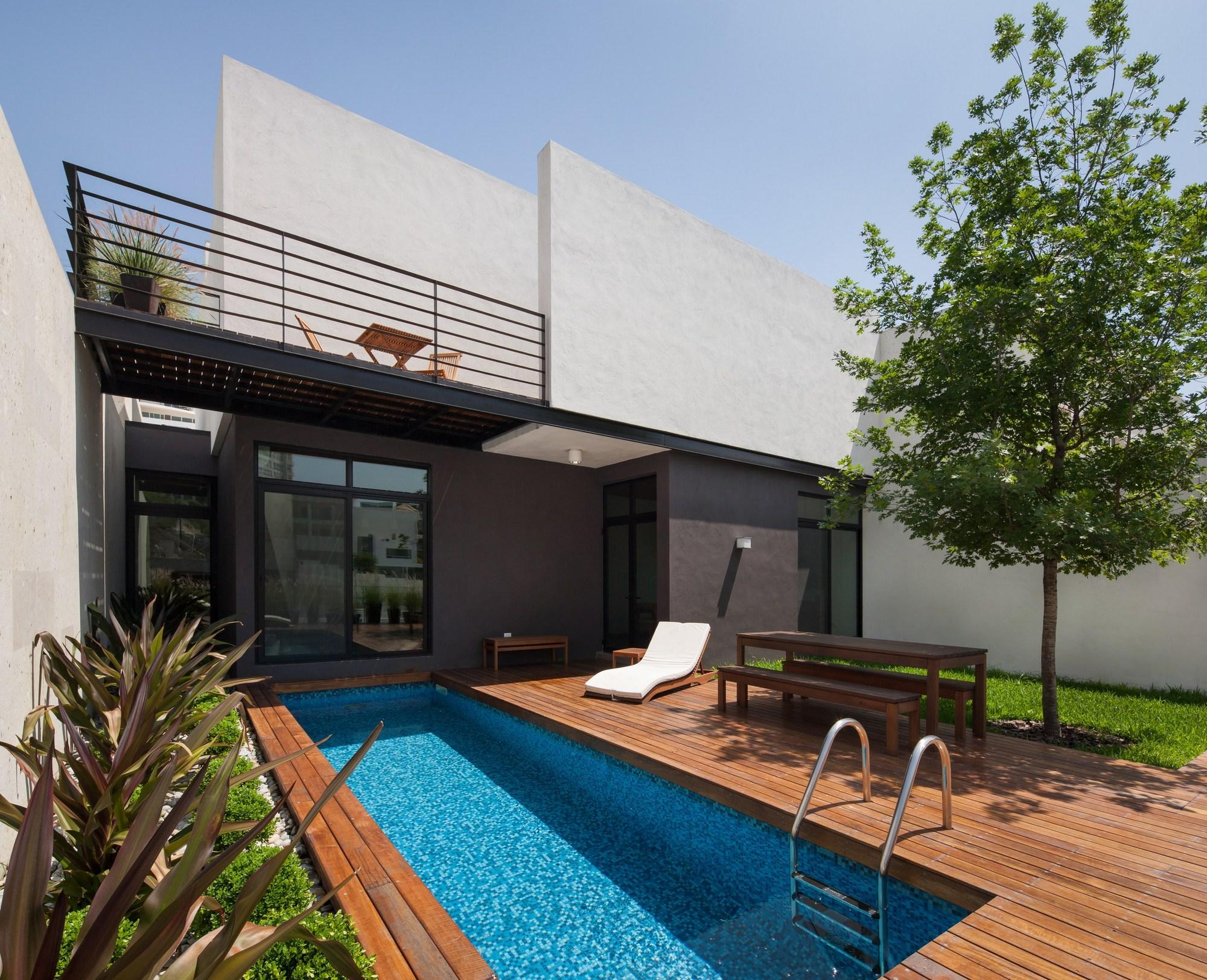 Ming house lgz taller de arquitectura archdaily for Casa moderna open