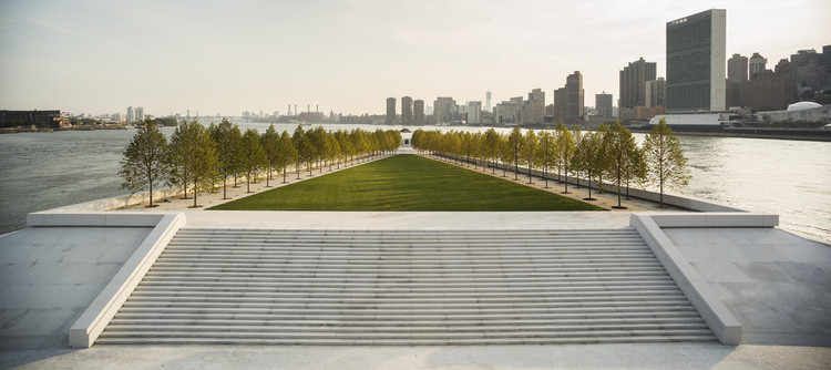 Louis Kahn's Roosevelt Island Memorial in the Firing Line Over Accessibility Dispute, Courtesy of Franklin D. Roosevelt Four Freedoms Park, LLC