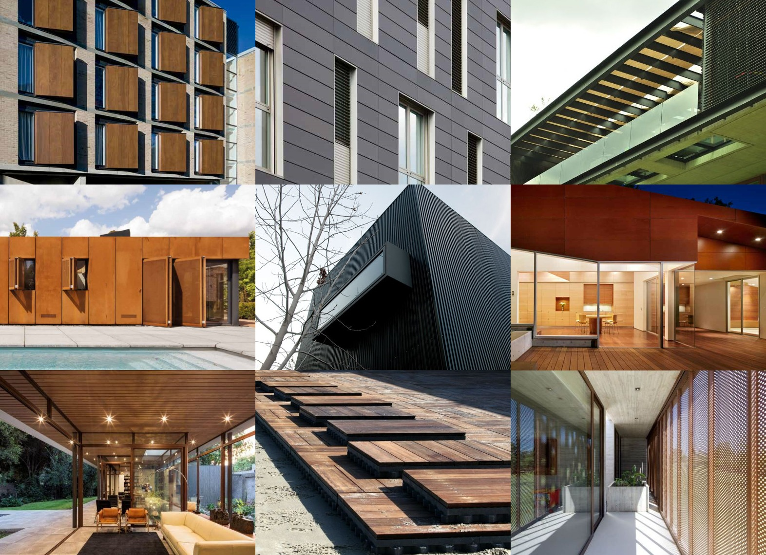 Materiales control solar y revestimientos modulares para - Materiales de construccion para fachadas ...