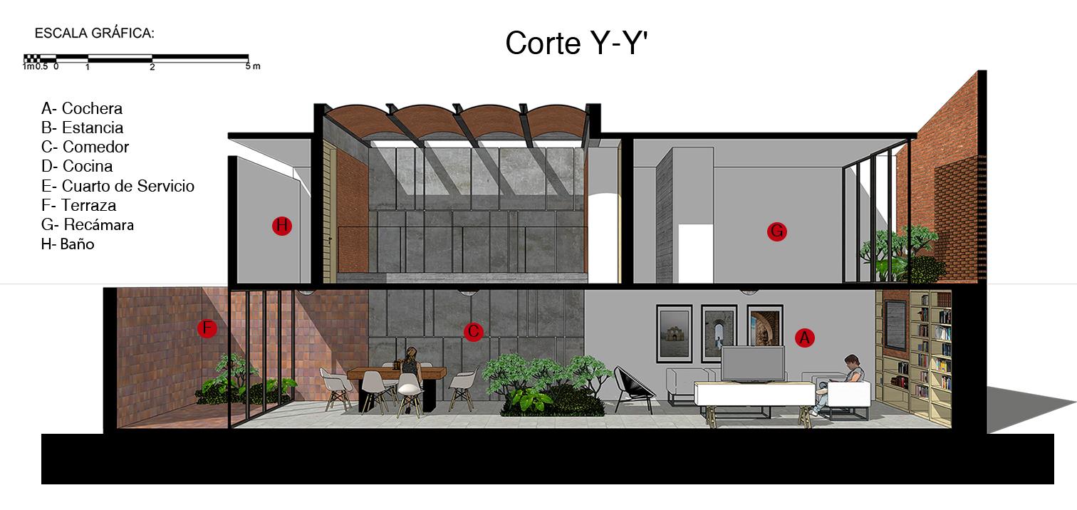 Galer a de casa tadeo apaloosa estudio de arquitectura y for Arquitectura y diseno de casas