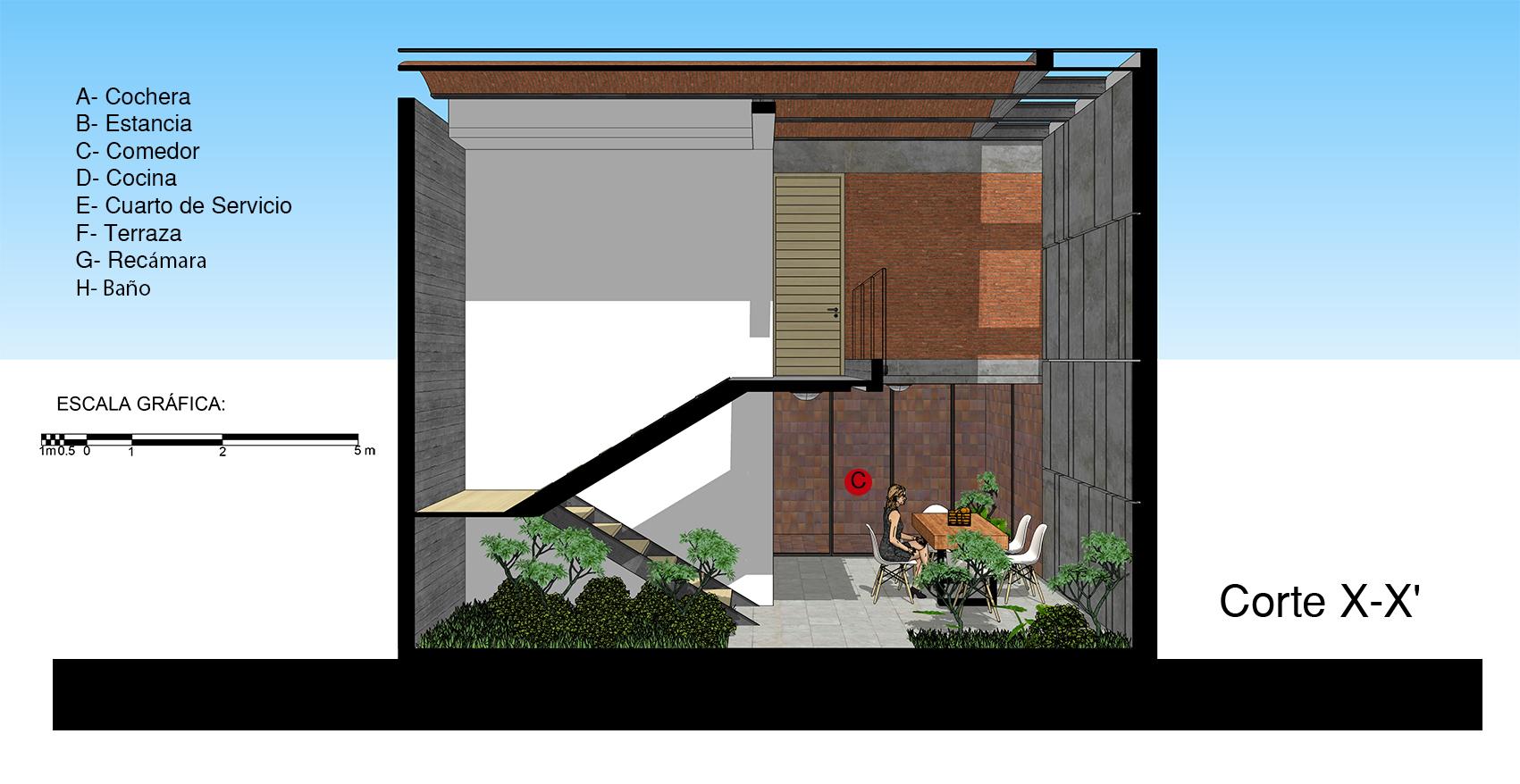 Galer a de casa tadeo apaloosa estudio de arquitectura y for Arq estudio de arquitectura