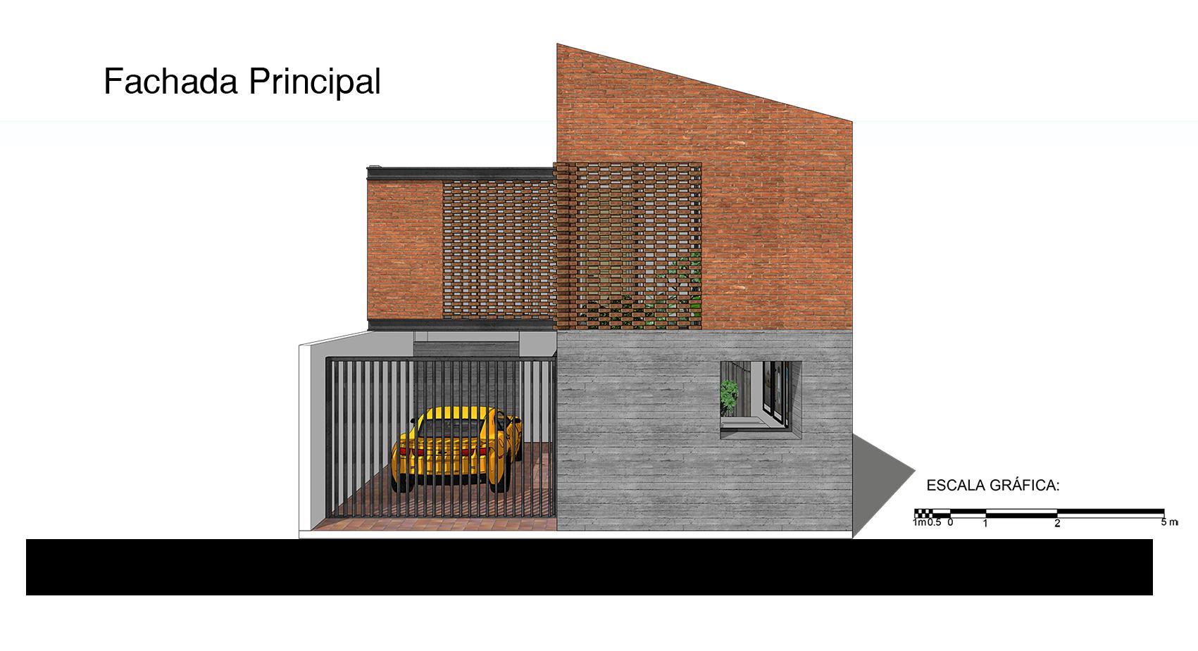 Galer a de casa tadeo apaloosa estudio de arquitectura y for Arquitectura nota de corte