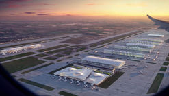 Zaha Hadid Architects y otros imaginan el futuro del aeropuerto de Heathrow