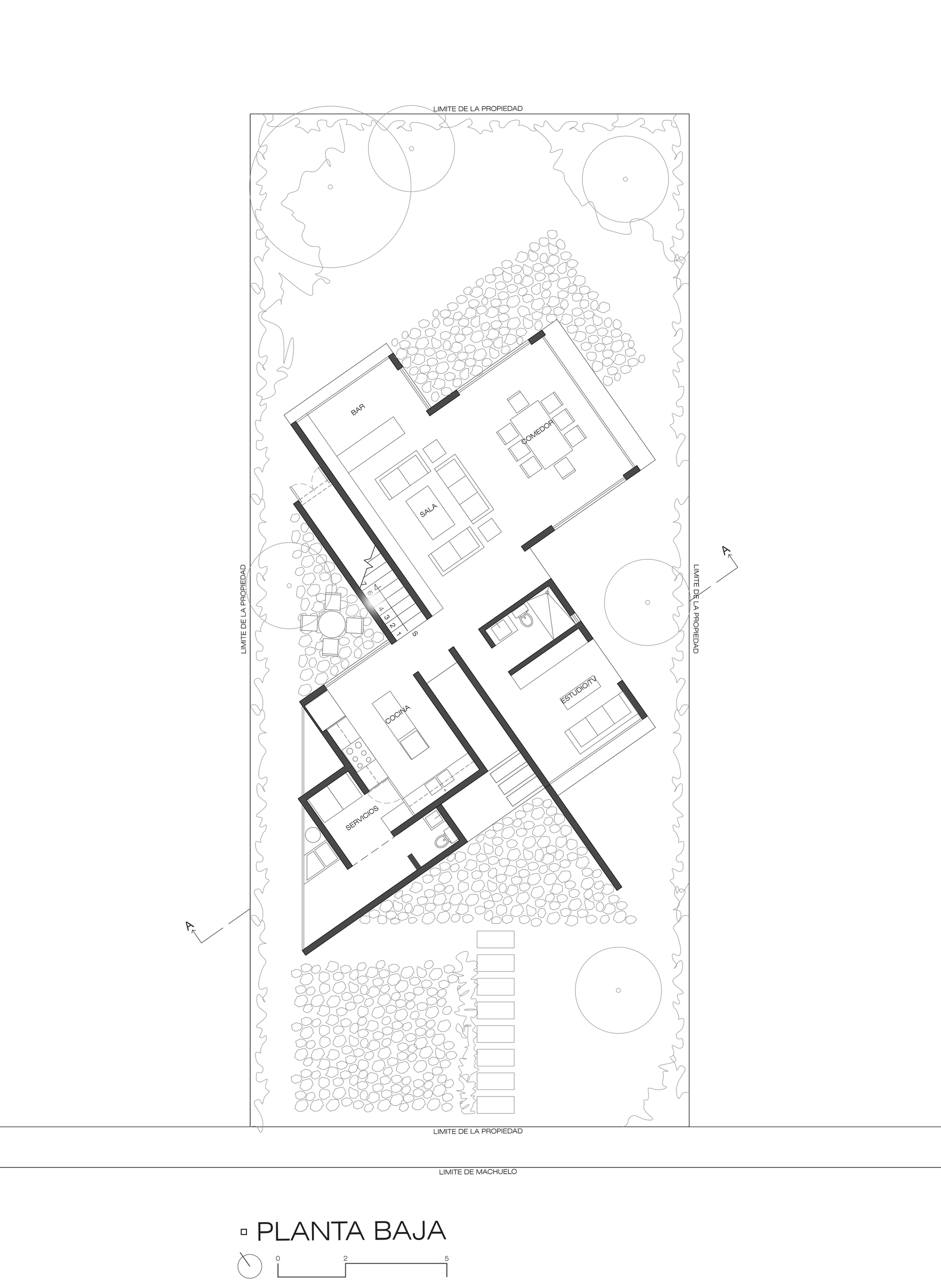 architecture floor plans gallery of eucaliptos house mo g taller de arquitectura 16 10172