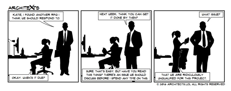 "Comic Break: ""RFQ Problems"""