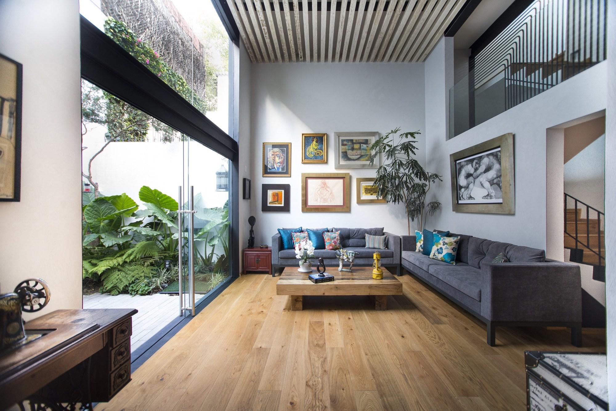 A118 taller paralelo archdaily m xico for Estilos de arquitectura contemporanea