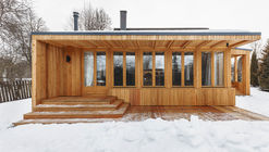 Country House in Tarusa Renovation / Architectural bureau PROJECT905