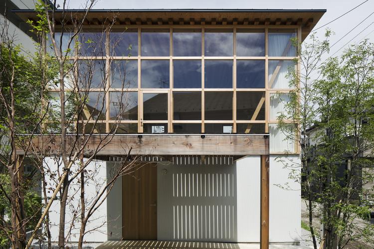 Module Grid House  / Tetsuo Yamaji Architects, © Kenta Hasegawa