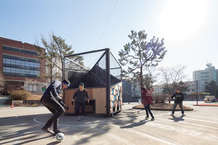 Patio de juegos indefinido / B.U.S Architecture, © Kyung Roh