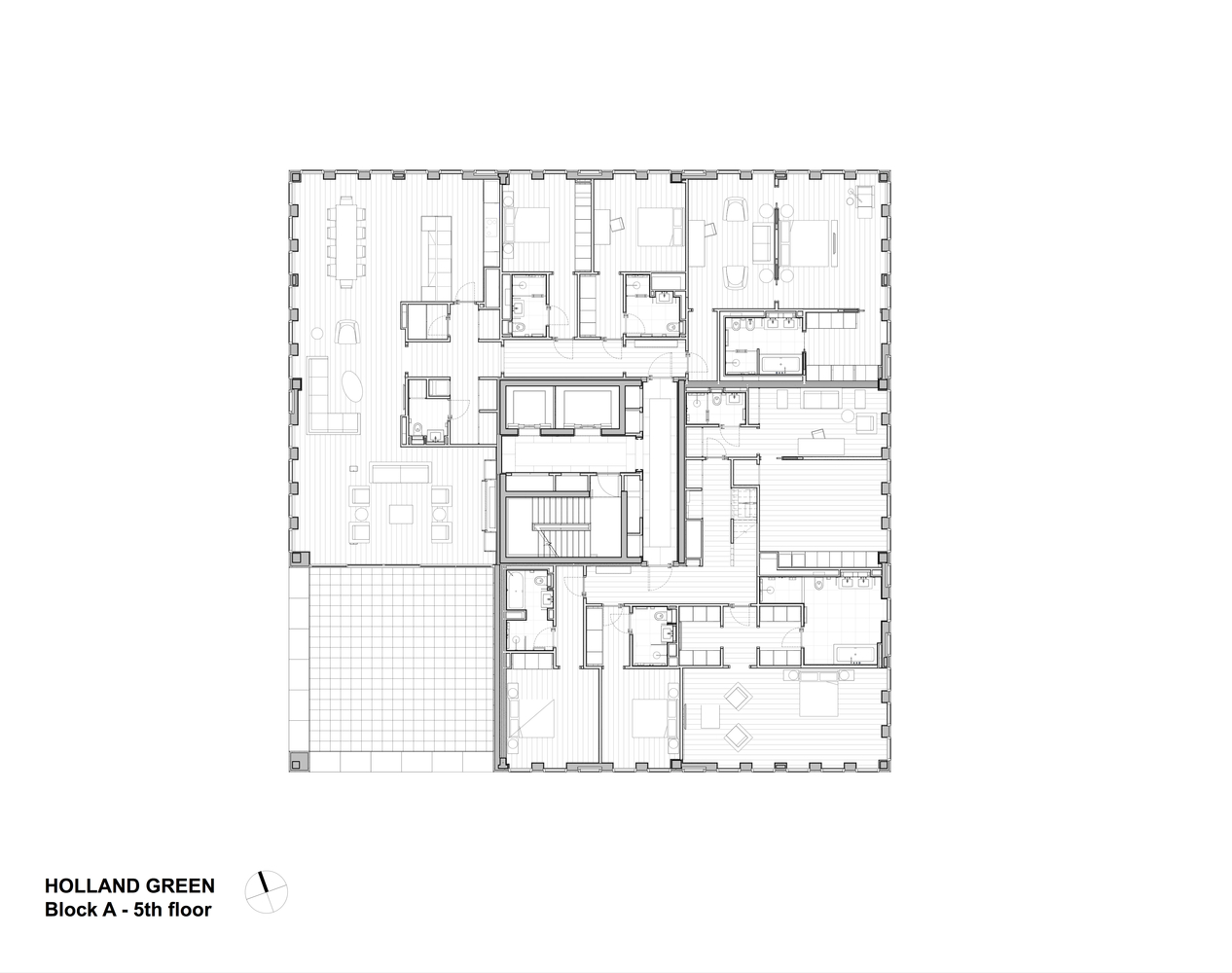 Green Floor Plans   Gallery Of Holland Green Oma Allies Morrison 30