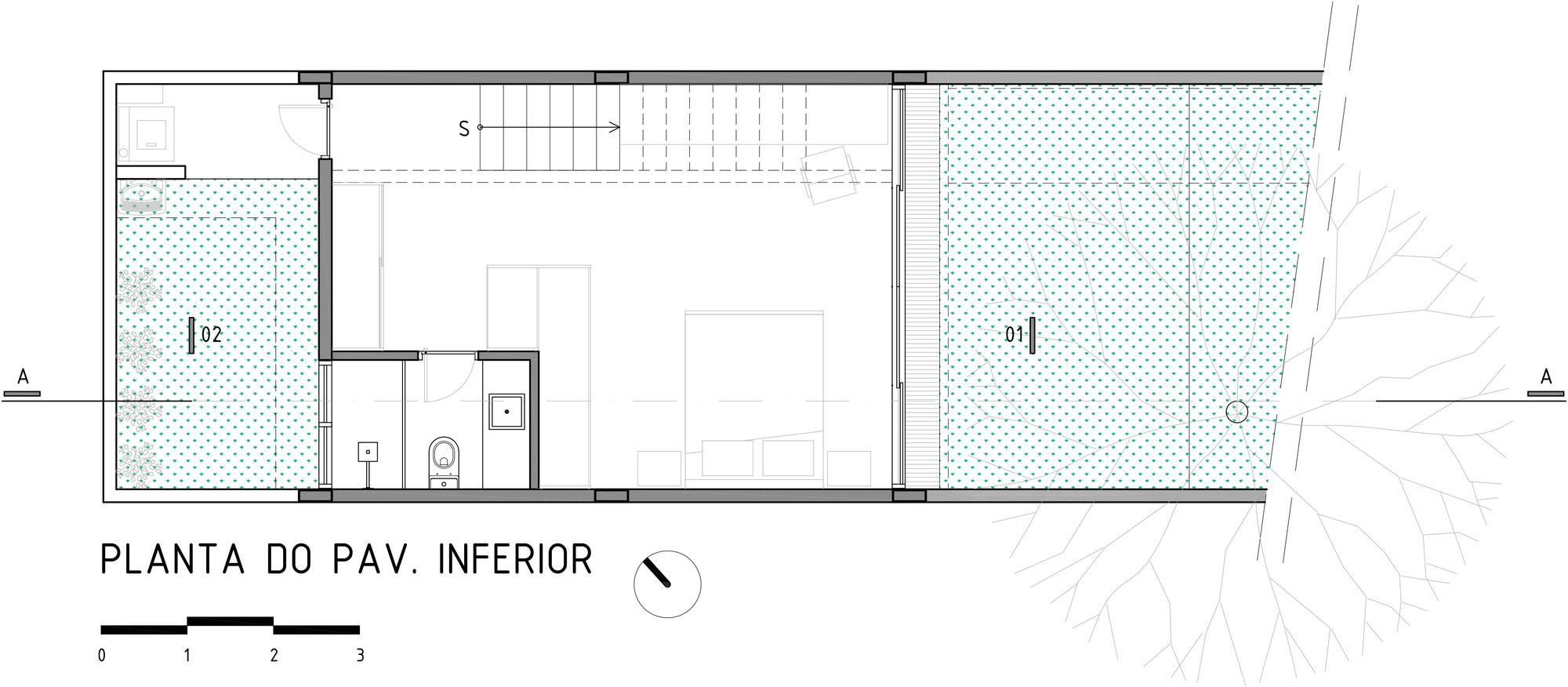 Desenhar Planta Baixa Galeria De Ed 237 Cula Ara 231 Atuba Misto Arquitetos 18