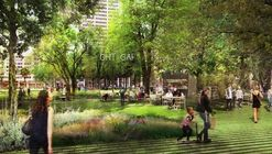 """Agence Ter Selected to Redesign LA's Pershing Square with Proposal for """"Radical Flatness"""""""
