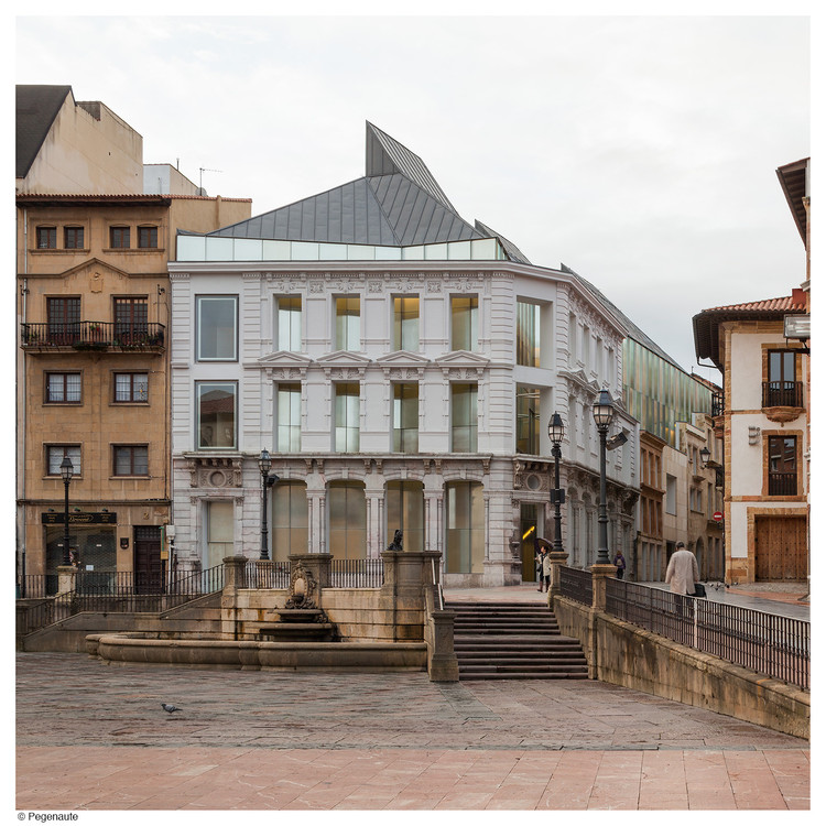 Museo de Bellas Artes diseñado por Mangado entre los finalistas del primer premio internacional de RIBA, Museo de Bellas Artes de Asturias. Image © Pedro Pegenaute