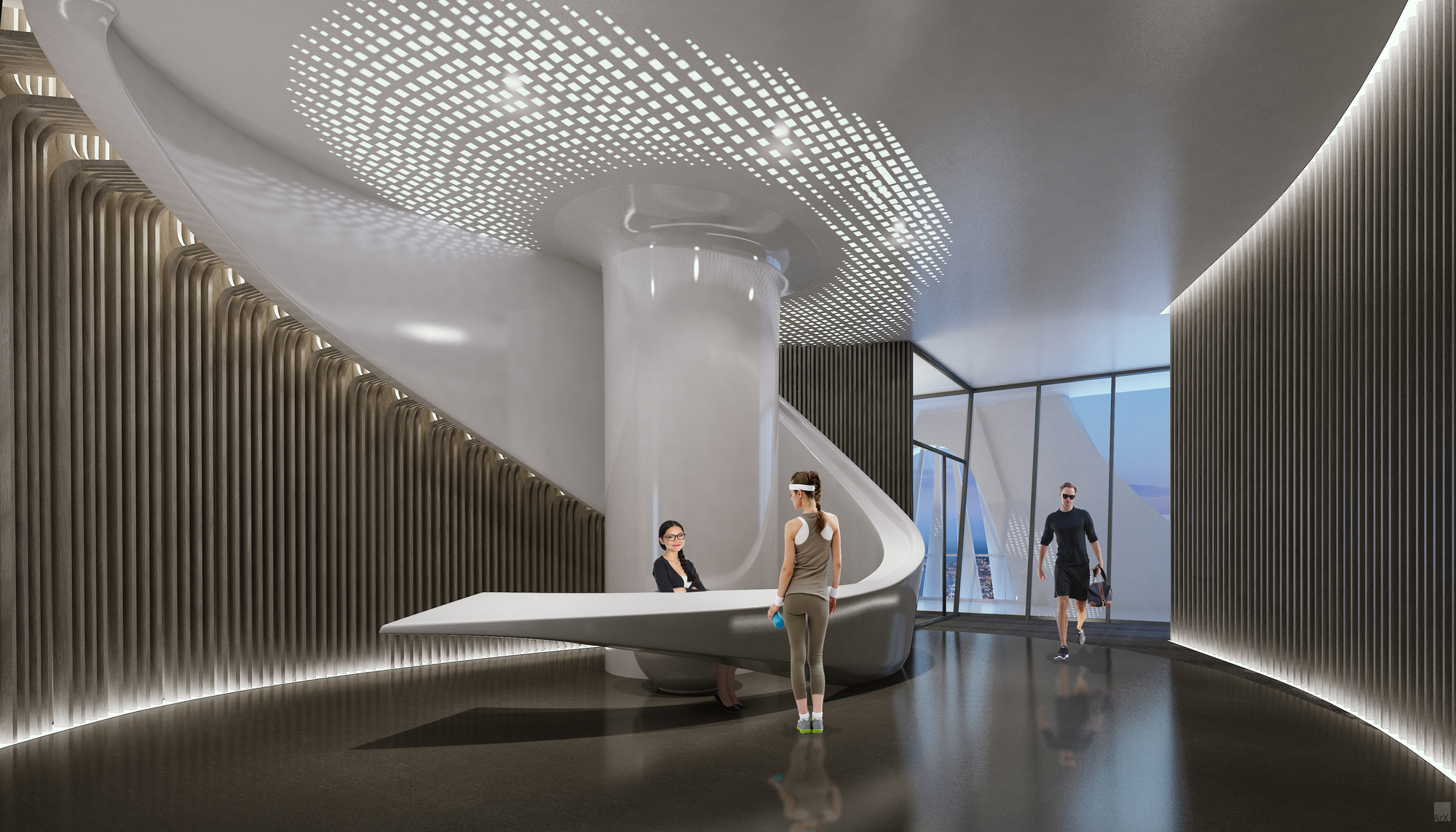 Gallery Of Zaha Hadid S Interiors For One Thousand Museum
