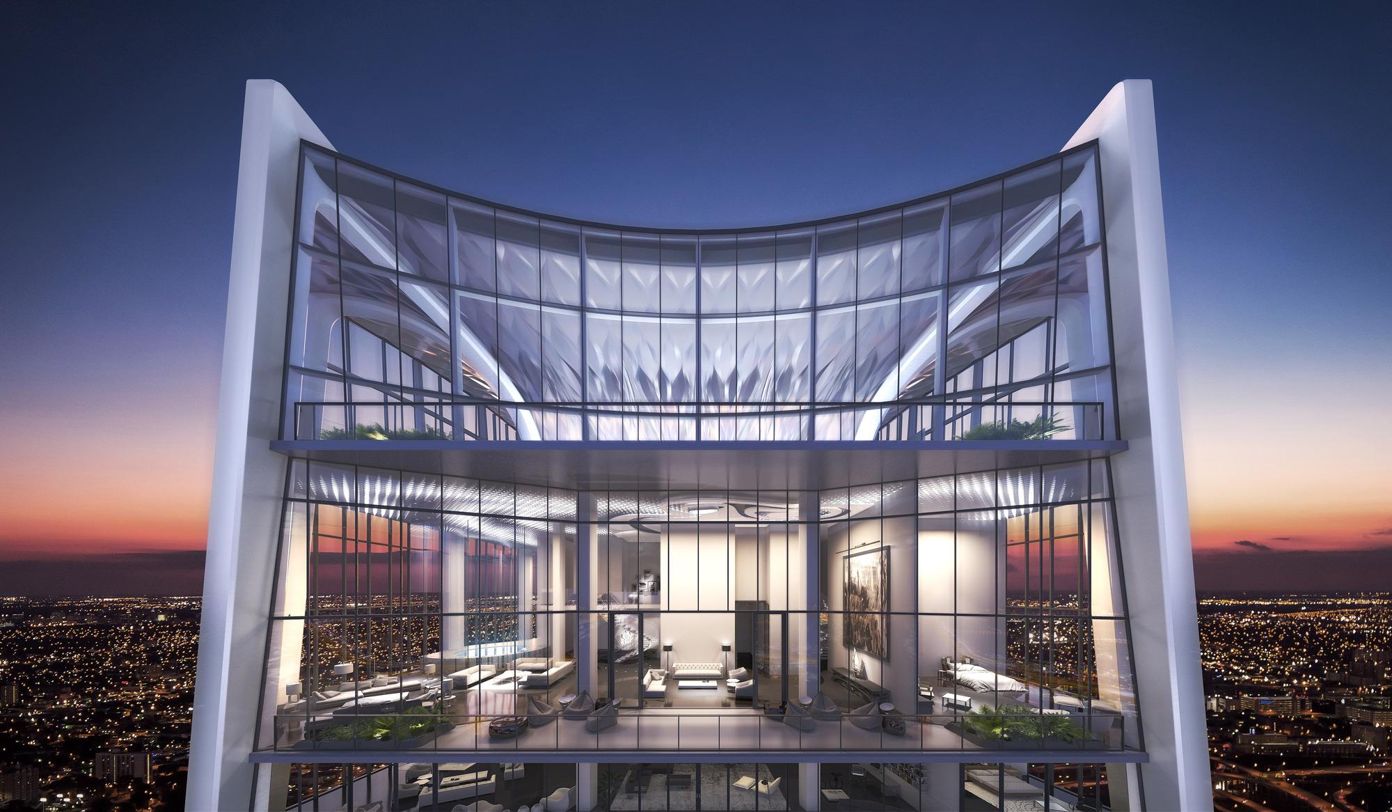 Glass Apartments Miami For Sale