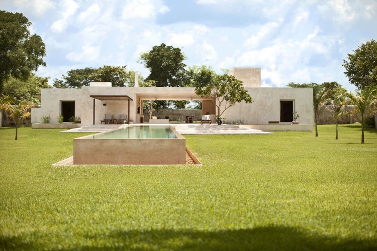 Sac Chich Hacienda / Reyes Ríos + Larraín Arquitectos, © Marcelo Troché