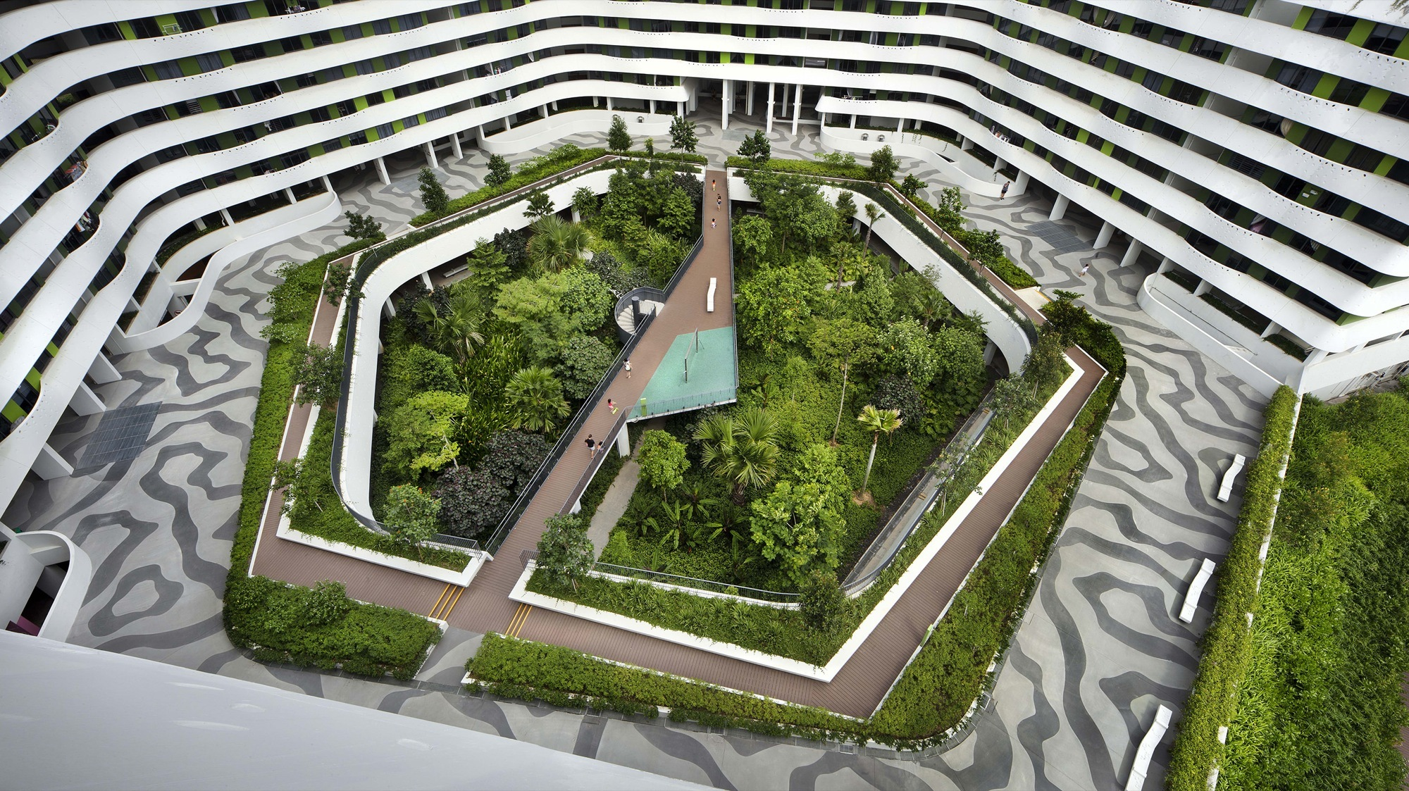 Roof Garden Plants Gallery Of Punggol Waterway Terraces Group8asia Aedas 3