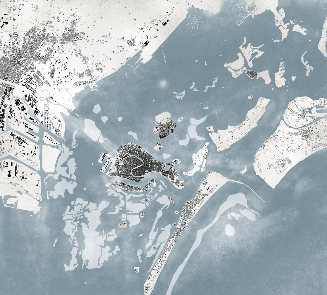 Gallery Of The Forests Of Venice Selected As Collateral Event - Venice biennale 2016 map