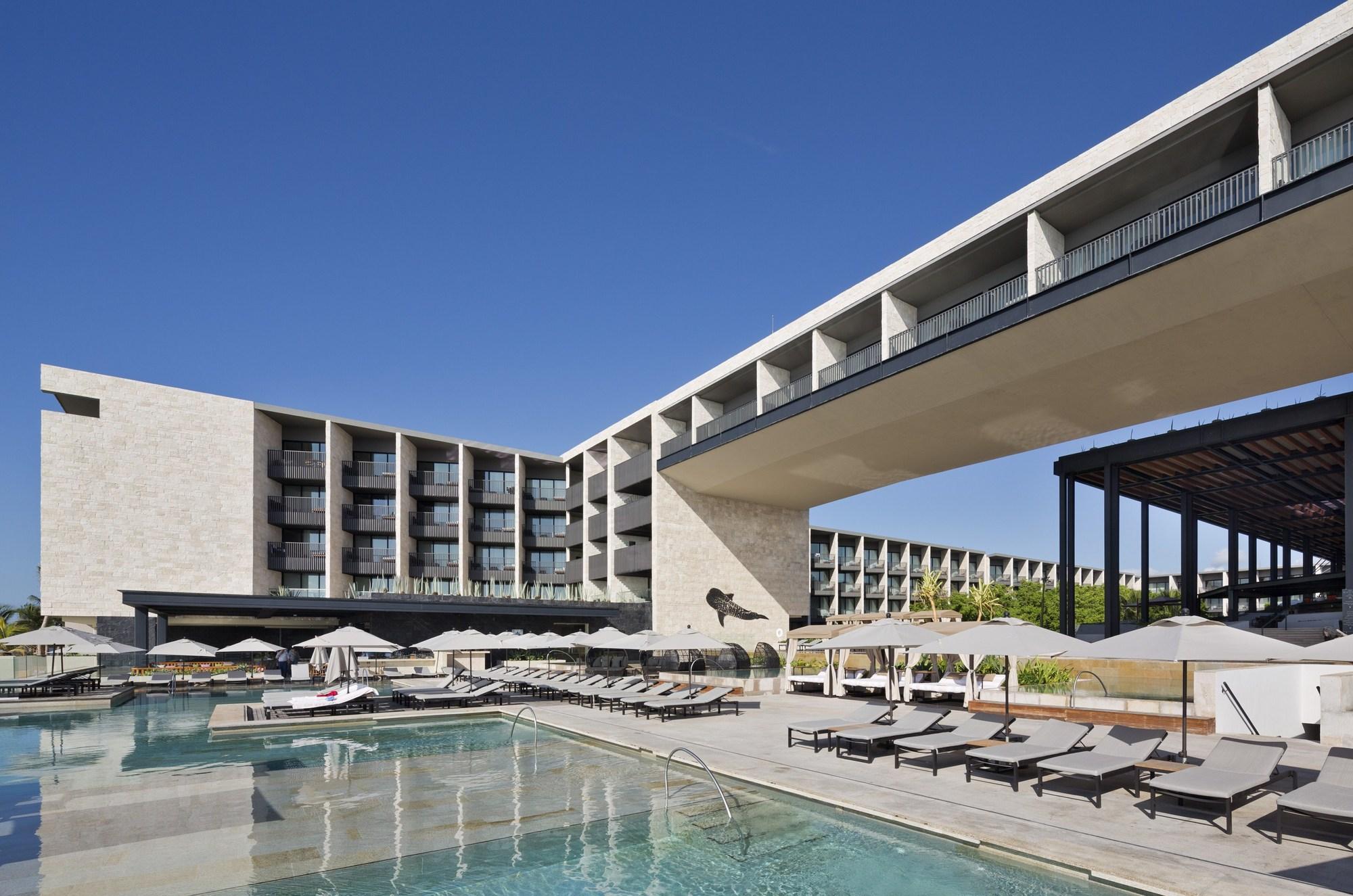Hotel grand hyatt playa del carmen sordo madaleno for Arquitectura y diseno de hoteles