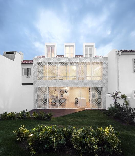 Restelo House / João Tiago Aguiar Arquitectos, © Fernando Guerra |  FG+SG