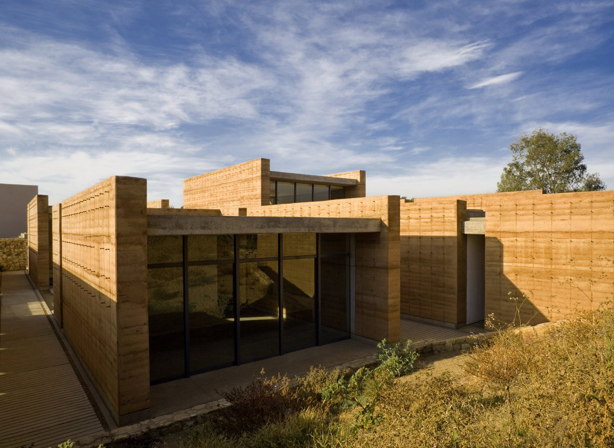 Escuela de artes visuales de oaxaca taller de for Plataforma arquitectura