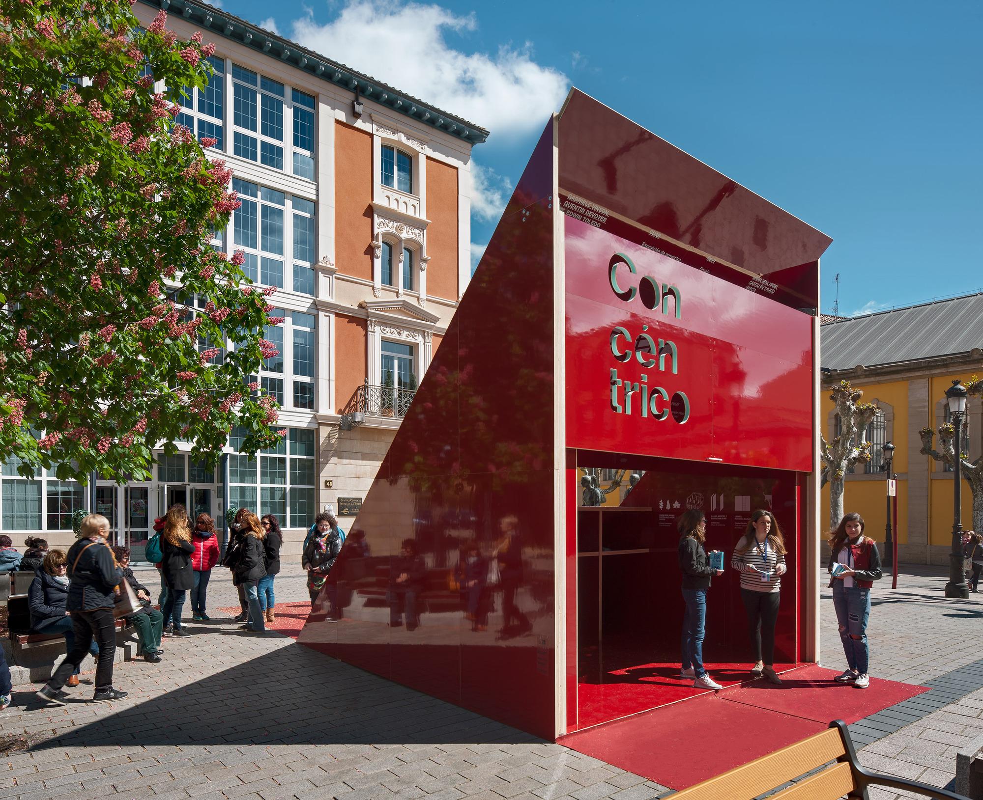 As cerr conc ntrico 02 el festival de arquitectura for Pabellones arquitectura efimera