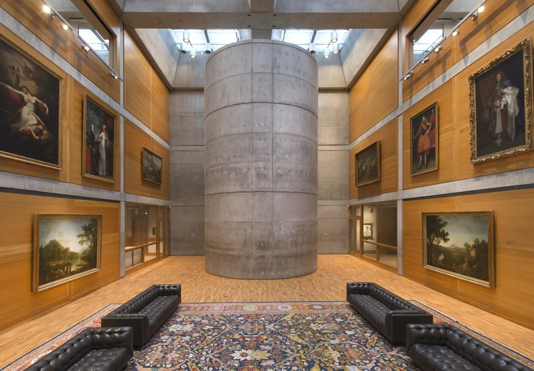 Louis Kahn's Yale Center for British Art Reopens After Restoration, Yale Center for British Art, Library Court following reinstallation. Image © Richard Caspole