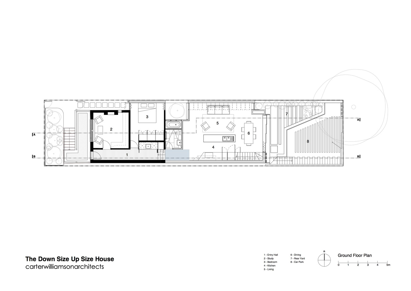 Gallery of Down Size Up Size House Carterwilliamson Architects 14