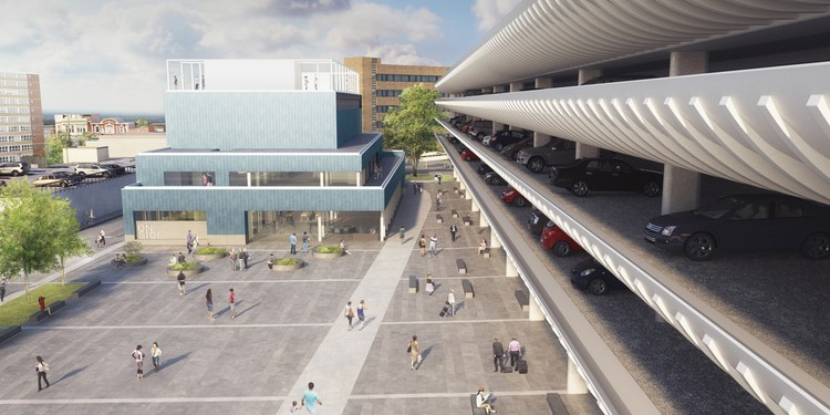 John Puttick Associates Reworks Design for Youth Zone at Preston Bus Station, Courtesy of John Puttick Associates
