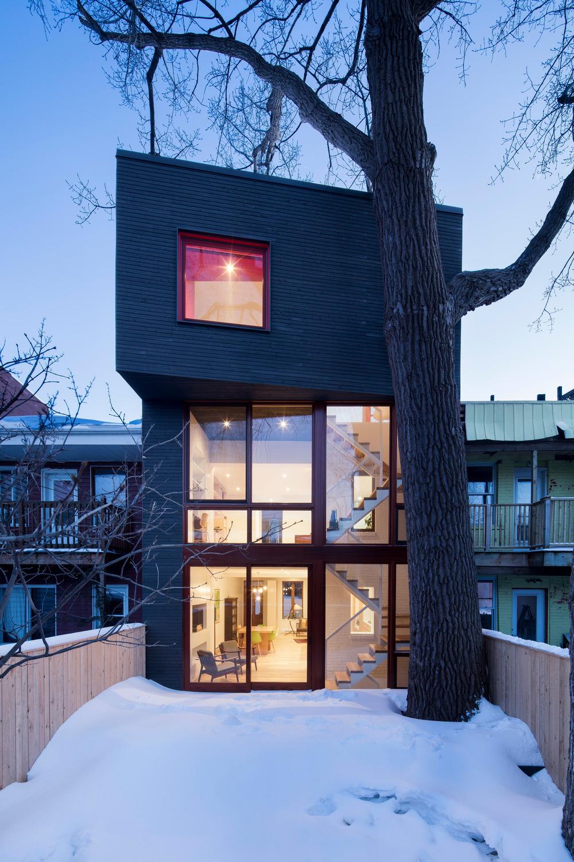 Hotel de ville residence architecture microclimat for Hotel de ville