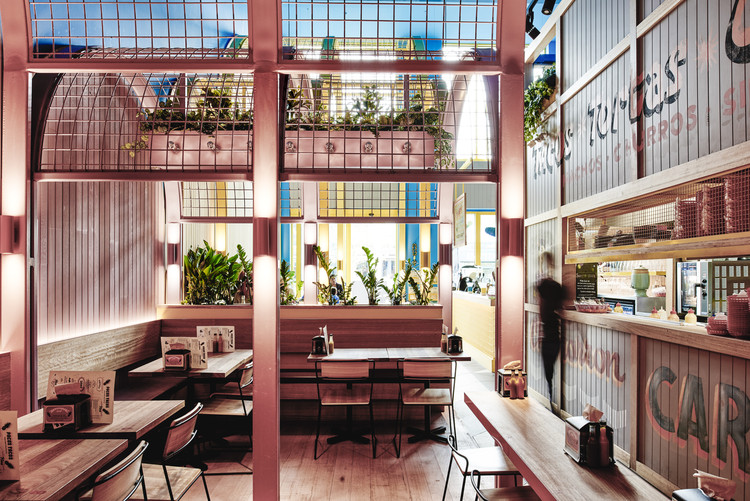 Pacos Tacos Techn Architecture Interior Design ArchDaily