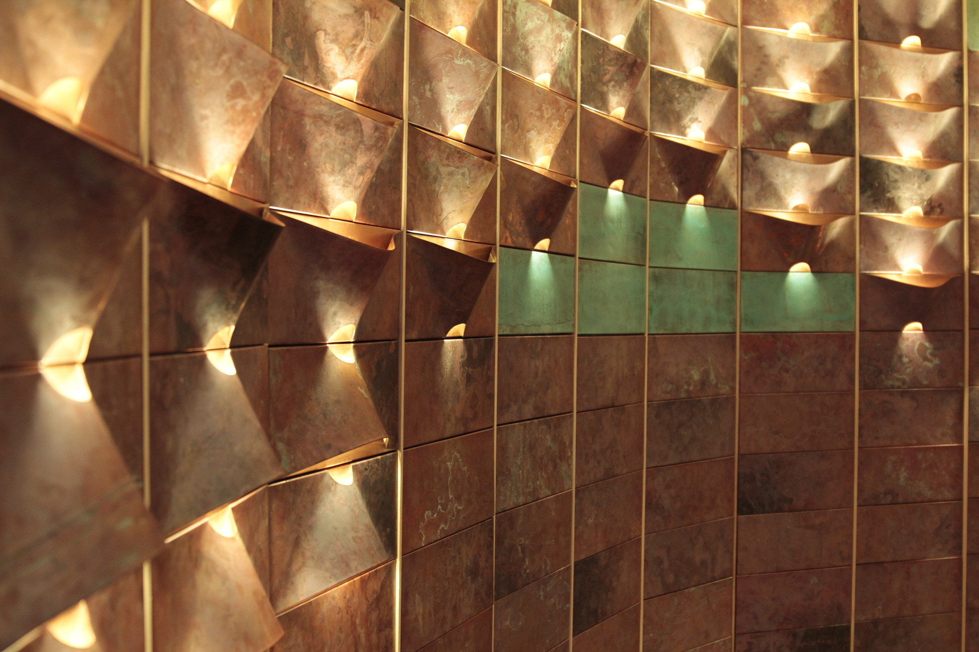 Revestimiento de muro lum qstudio plataforma arquitectura - Revestimiento de muros ...