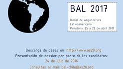 Abren convocatoria para la V Bienal de Arquitectura Latinoamericana de Pamplona BAL2017